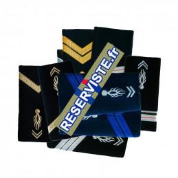 Fourreaux d'épaules gendarmerie