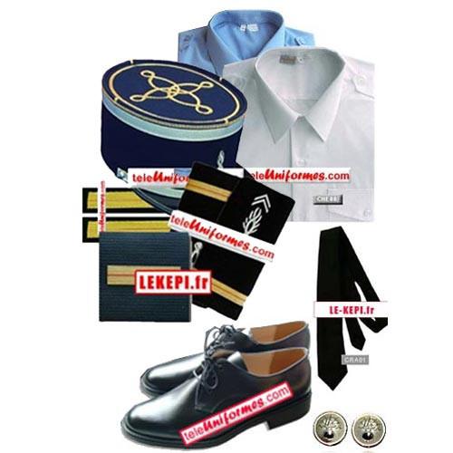 Fournisseur d'uniforme pour les gendarmes